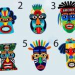 Тест: выберите маску и узнайте, каково ваше отношение к жизни у вашей личности.