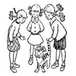 Тест времен СССР: Сможете ли вы понять за 30 секунд, кому из девочек принадлежит кот.