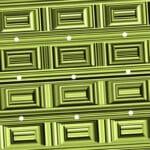 Тест: Оптическая иллюзия, сможете ли вы увидеть круги среди квадратов.
