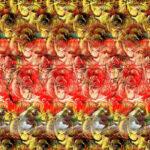 Тест: стереограмма для развития мозга, что вы смогли увидеть на картинке.